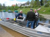 Alevinage de Truitelle de Lac 27/05/2010 _ et de Brochetons 03/06/2010